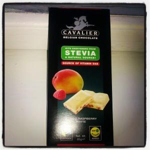 Hvit Cavalier med stevia