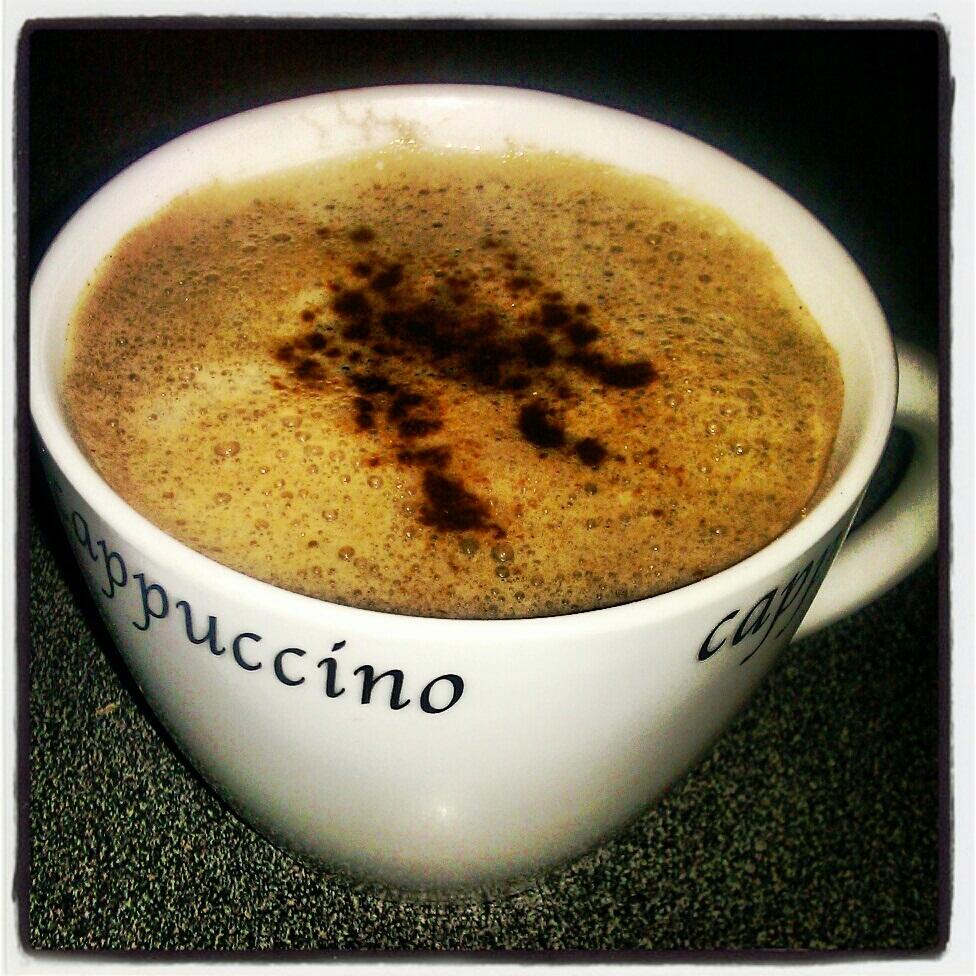 Chocolate Fudge Brownie Cappuchino