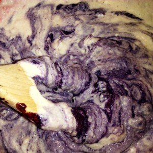 bøåbærmuffins røre
